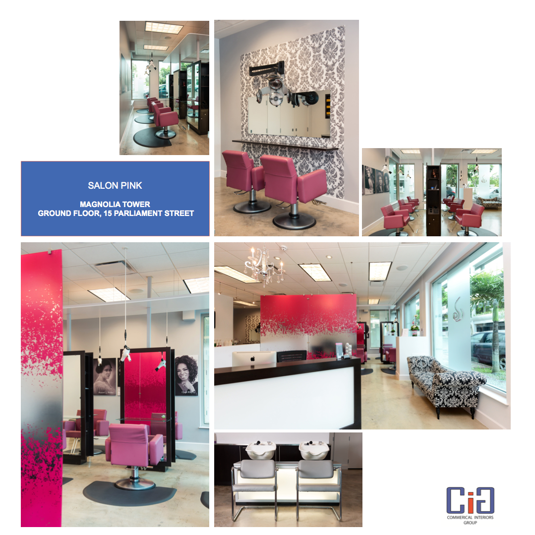 Salon Pink Design Board